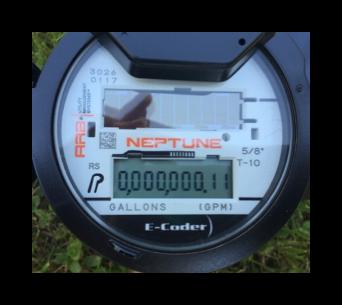 Digital Neptune meter