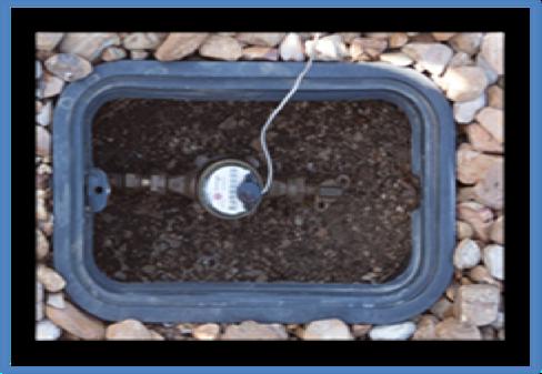 water meter box responsibility division